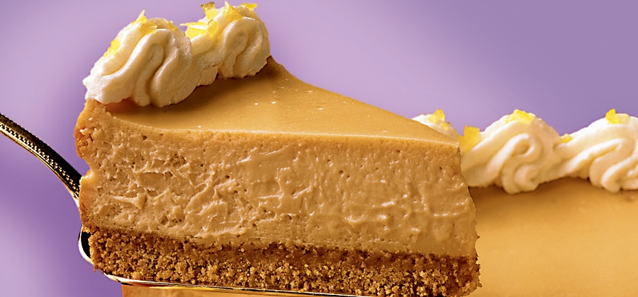 Butterscotch Cheesecake - 04590