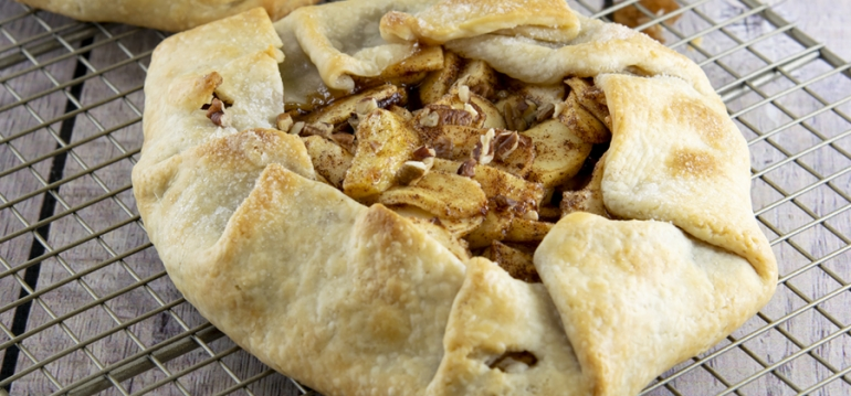 FFES-Cinnamon-Apple Crostata