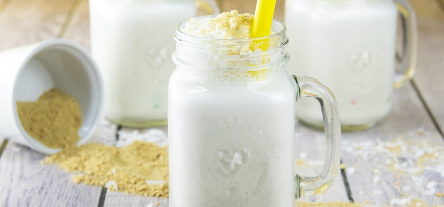 How to Make a Coconut Cream Pie Milkshake - FFES