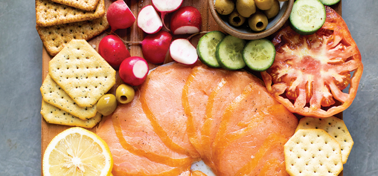 Smoked Salmon for Holiday Soirees
