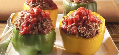 Classic Beef-Stuffed Peppers