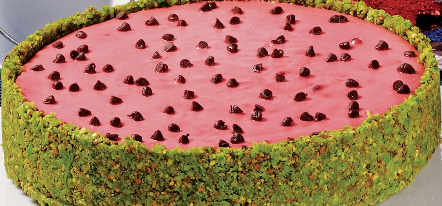 Cool Watermelon Cheesecake - 11575