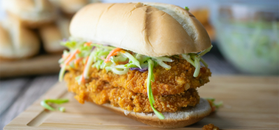Crunchy Buffalo Baked Veal Cutlet Sandwiches