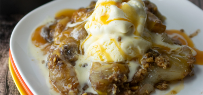 Walnut Apple Pear Crisp