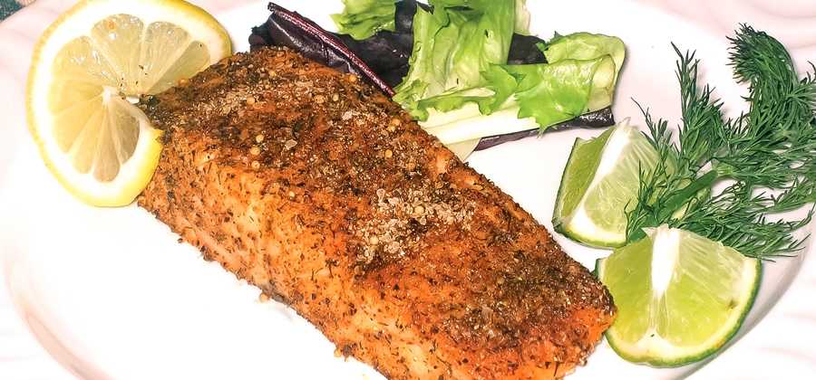 Magic Baked Salmon
