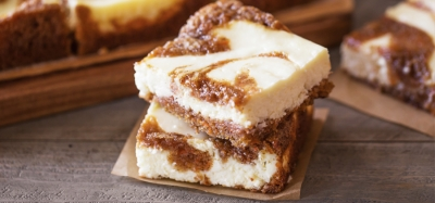 Carrot Cake Swirled Cream Cheese Bars - 13120