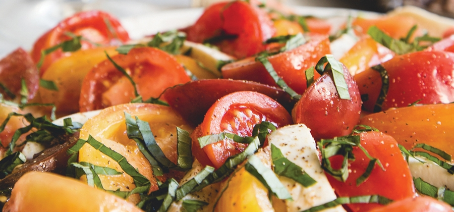 Heirloom Tomato and Mozarella Salad - 13386