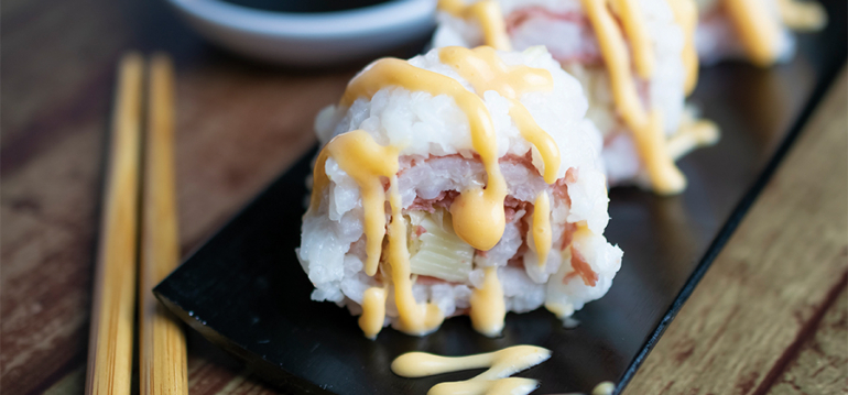 Beef Up Your Menu with a Trendy Twist on Sushi - 15112