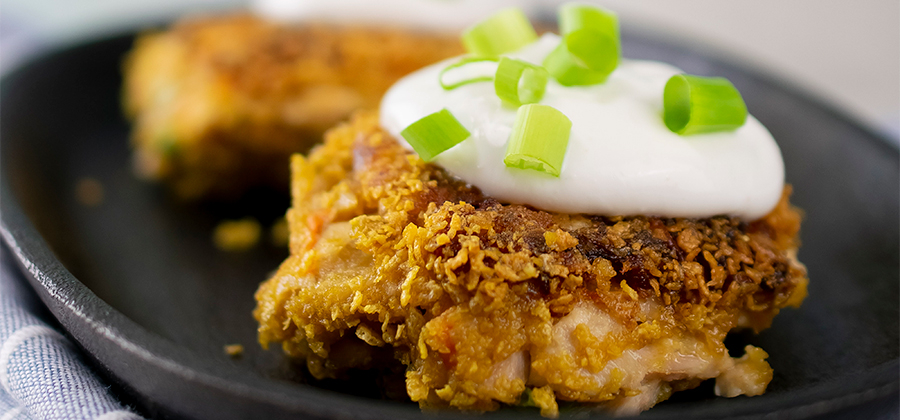 Tuna-Carrot Cakes with Garlic Lemon Aioli - 15211