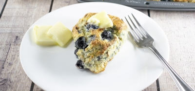 Blueberry-Pecan Scones