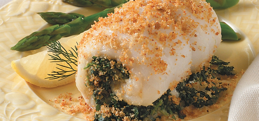 Spinach-Stuffed Fish Fillets - 03534