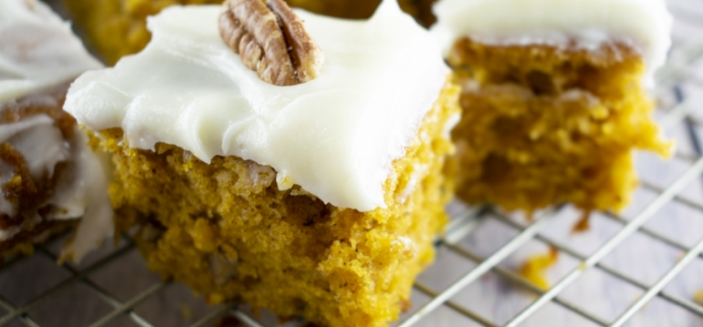 FFES SPICED PUMPKIN BARS