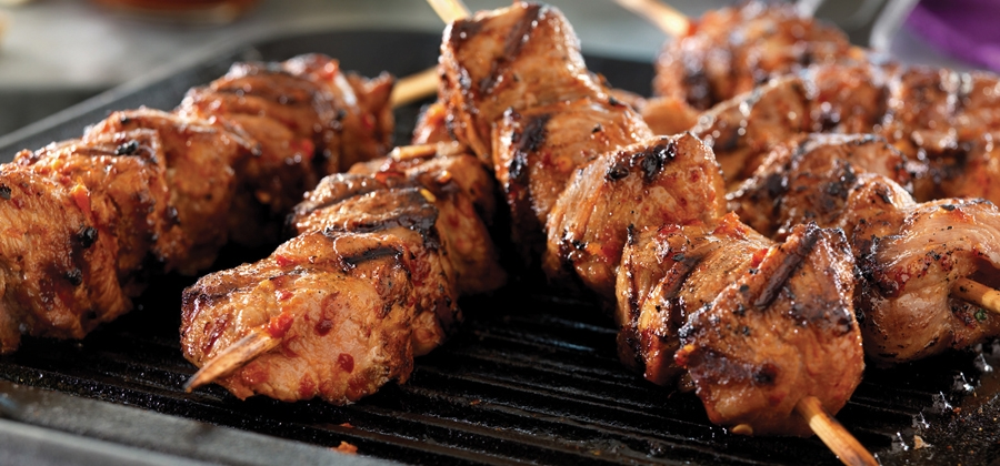 Tackle a Winning Taste with Korean Pork Skewers - 12238
