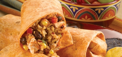 Southwest Chicken and Rice Wraps - 09581