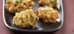 Spicy Thai Crab and Sweet Corn Fritters