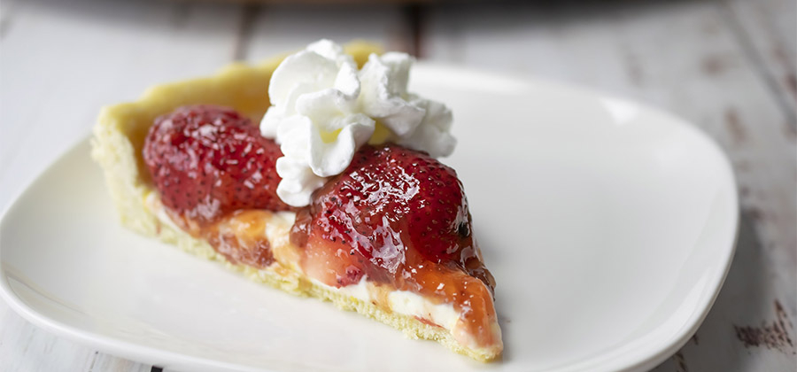 Strawberry Cream Cheese Tart - 15603