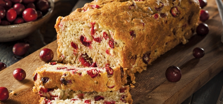Cranberry-Orange Pecan Bread - 13350
