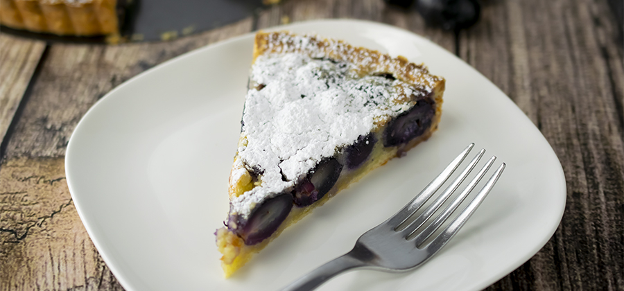 Grape Frangipane Tart