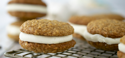 Oatmeal Cream Cookie Sandwiches