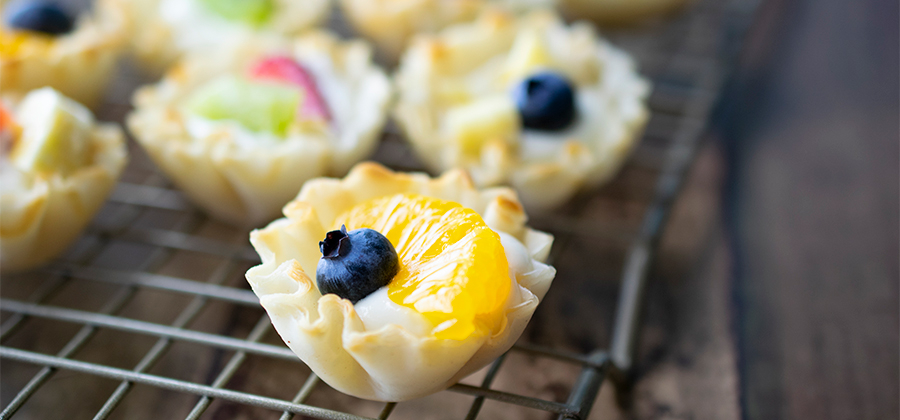 Mini Fruit Tarts - 14868