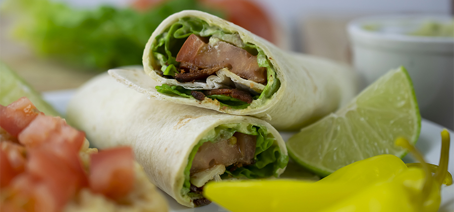 BLT Wrap with Avocado Spread - 15604